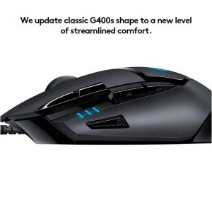 GamesnComps - LOGITECH G402 Hyperion Fury Ultra Fast FPS Gaming Mouse 2