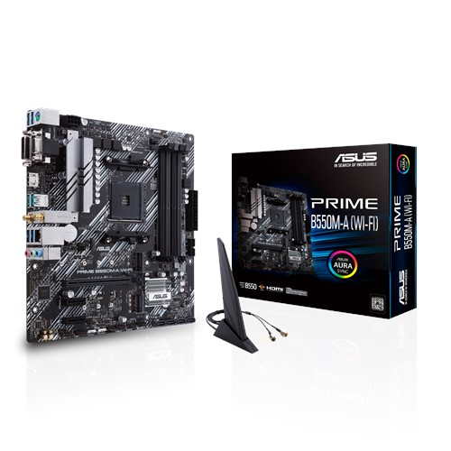 B550M-A WiFi AM4 Socket.Ryzen 3rd genration cpu support motherboard