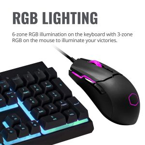GamesnComps - Cooler Master MS110 Gaming Keyboard Mouse Combo