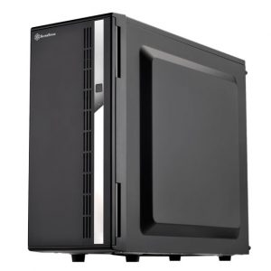 gamesncomps SILVER STONE SST-CS380B MID TOWER CABINET