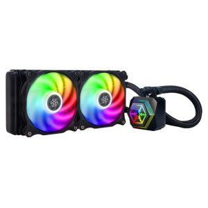 gamesncomps SILVER STONE PF240-ARGB 240MM LIQUID COOLER 3