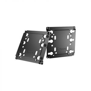 gamesncomps Fractal Design Universal Multibracket Mounting Adapter Kit Black (2 pack) 1