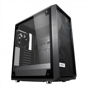gamesncomps Fractal Design Meshify C Tempered Glass CABINET 5