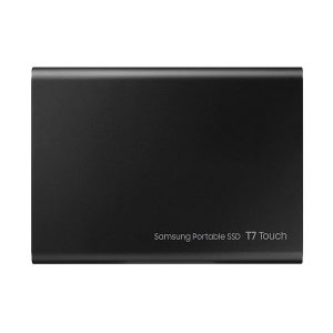 gamesncomps SAMSUNG T7 TOUCH 500GB BLACK EXTERNAL SSD