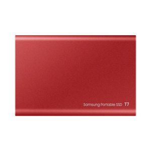 gamesncomps Samsung T7 Red 2TB External SSD