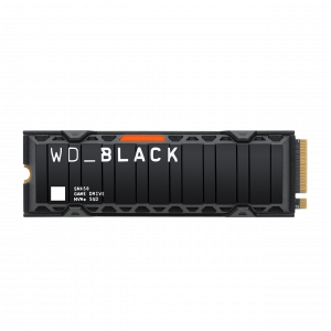 gamesncomps WESTERN DIGITAL WD BLACK SN850 500GB NVMe™ SSD WITH HEATSINK