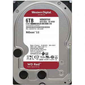 gamesncomps WESTERN DIGITAL WD RED 6TB NAS Hard Disk Drive