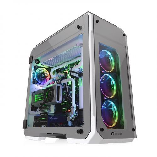 gamesncomps THERMALTAKE View 71 Tempered Glass Snow Edition Full Tower Chassis5