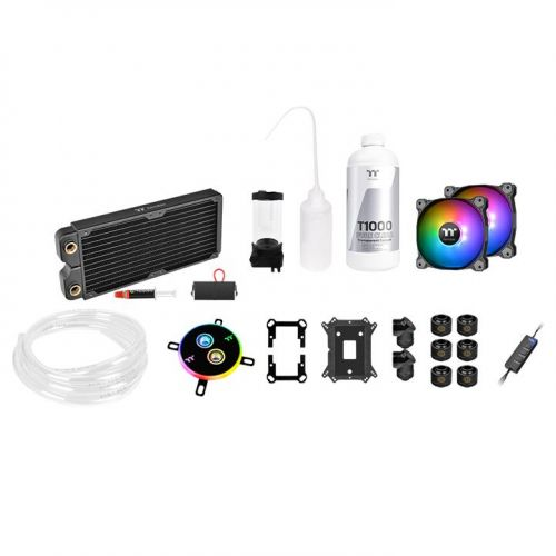 gamesncomps THERMALTAKE Pacific C240 DDC Soft Tube Water Cooling Kit