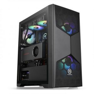 gamesncomps THERMALTAKE Commander G31 TG ARGB Mid-Tower Chassis5