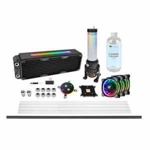gamesncomps THERMALTAKE Pacific M360 Plus D5 Hard Tube Water Cooling Kit