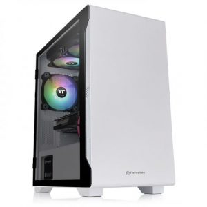 gamesncomps THERMALTAKE S100 Tempered Glass Snow Edition Micro Chassis5