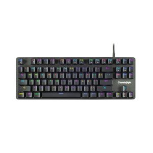 GamesnComps - COSMIC BYTE CB-GK-13 Neon Rainbow Mechanical Keyboard With Outemu Brown Switch 5