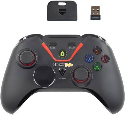 GamesnComps - COSMIC BYTE EQUINOX QUASAR WIRELESS GAMEPAD WITH PROGRAMMABLE TURBO BUTTONS FOR PC