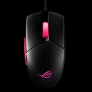 GamesnComps - Asus ROG Strix Impact II Ambidextrous Ergonomic Wired Gaming Mouse 2