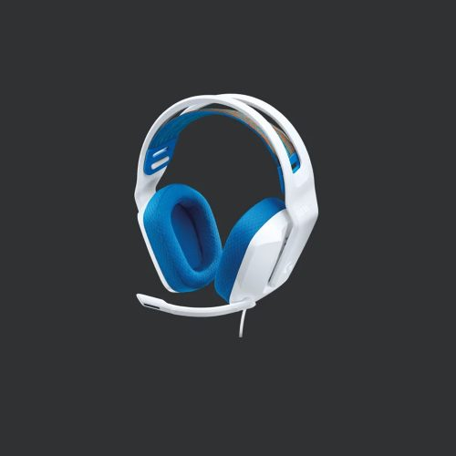Logitech G335 Wired Gaming Headset White - GamesnComps.com